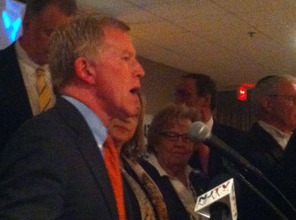"Gordon: LD 38 victor says he's ""still standing"" despite Christie ""carpetbombing"""