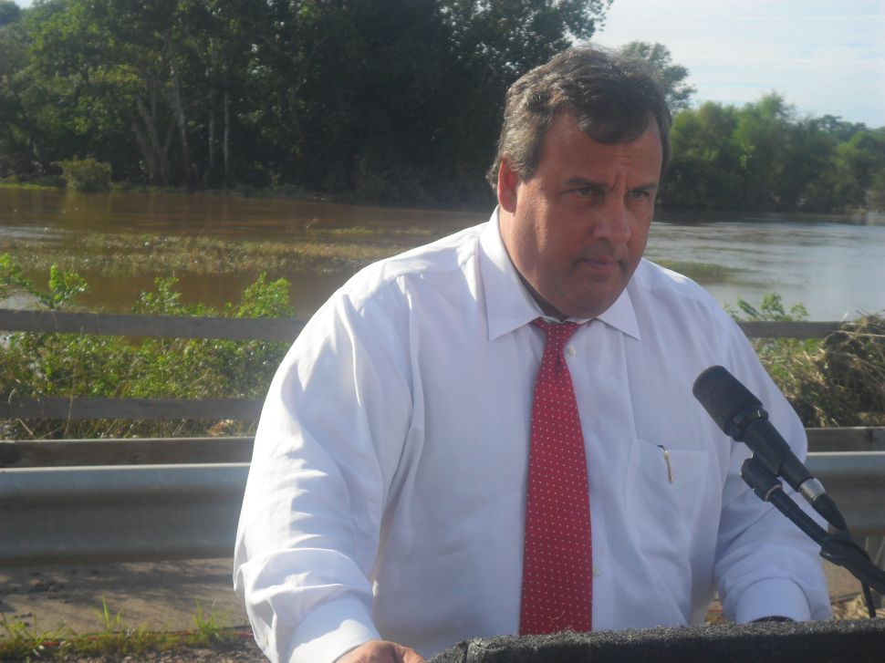 Christie hints at government layers overlapping ineffectively during storm crisis, but has overall praise for response
