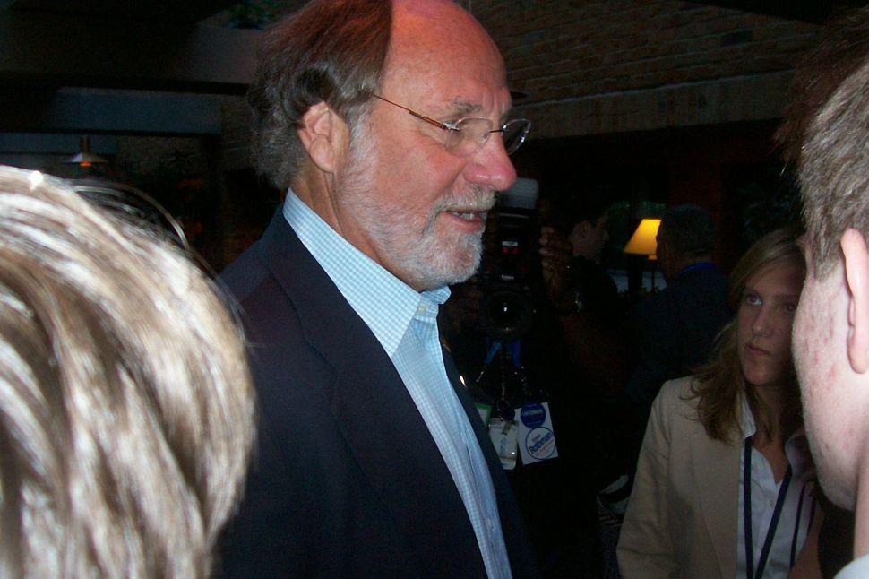 Corzine's convention