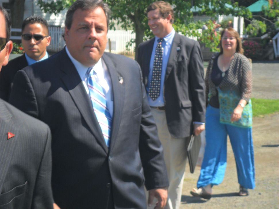 Christie claims no inconsistency in his approach to PVSC and Elizabeth BOE