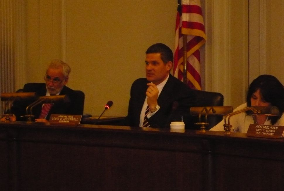 Greenwald says Christie failed to devise true property tax relief