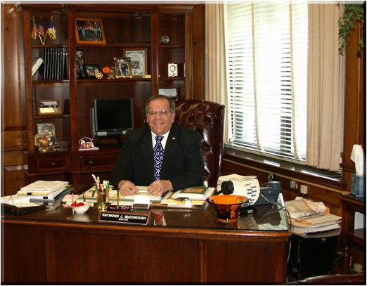 Mayor Ray McDonough of Harrison has died