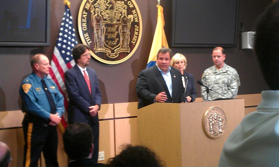 Christie declares state of emergency for Hurricane Irene