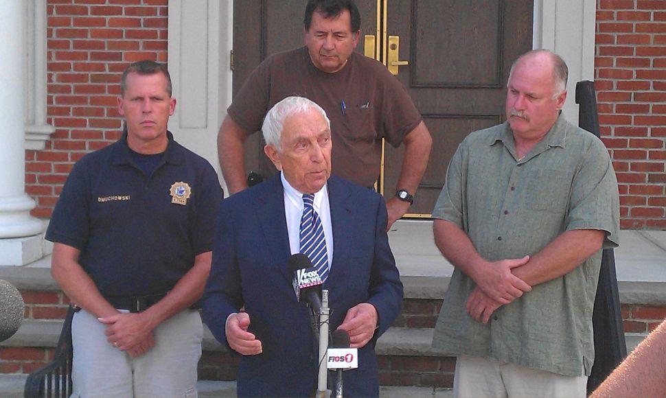 Lautenberg calling for billions for depleted FEMA reserve