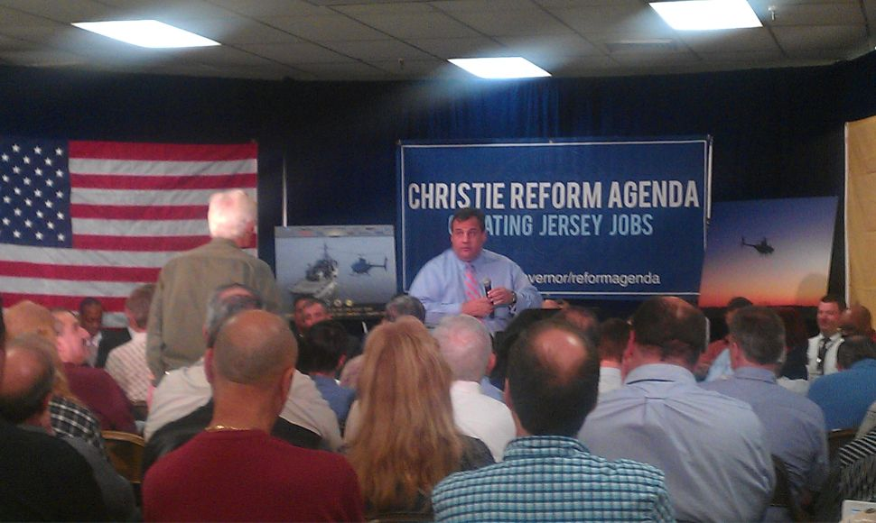 Christie: Payroll tax cuts represent turning point in his administration