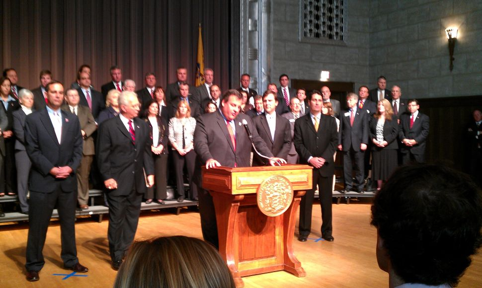 Keying on reform court battle, Christie on upcoming election: GOP 'going to make history'