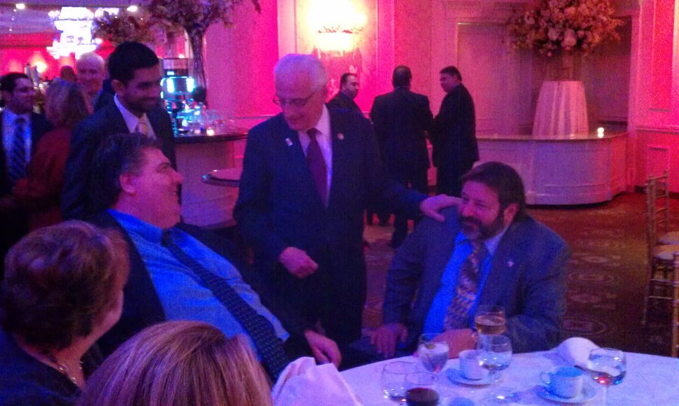 Pascrell will not cease to be a thorn in Rothman's side, as BCDC celebrates
