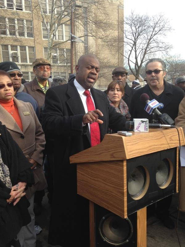 Reacting to proposed Newark schools plan, Baraka blasts Christie and Anderson