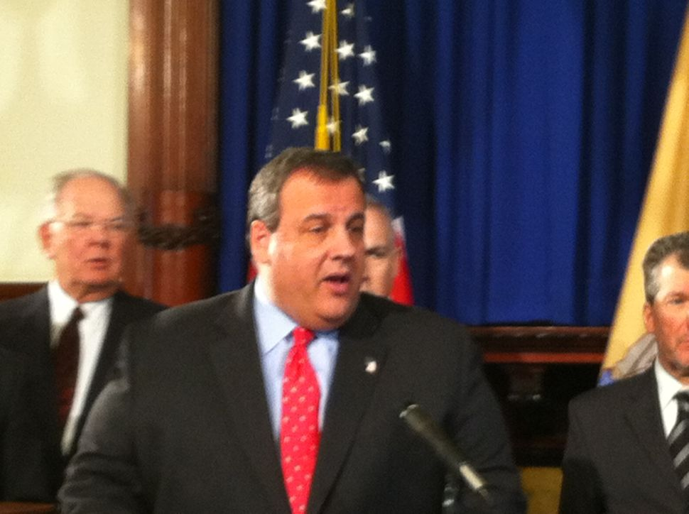 Poll: Christie approval rating at 56%