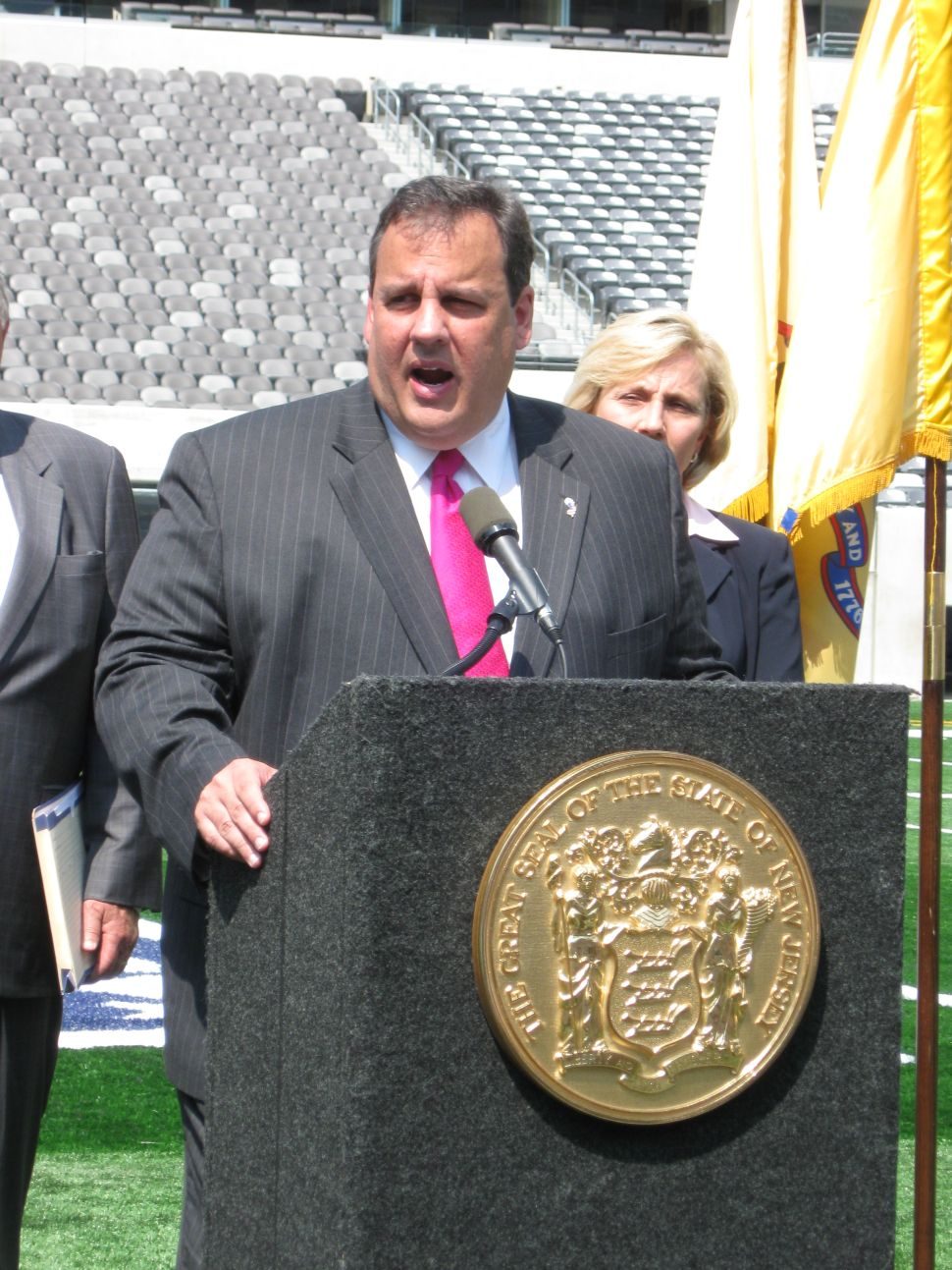 Christie up with first TV ad tomorrow