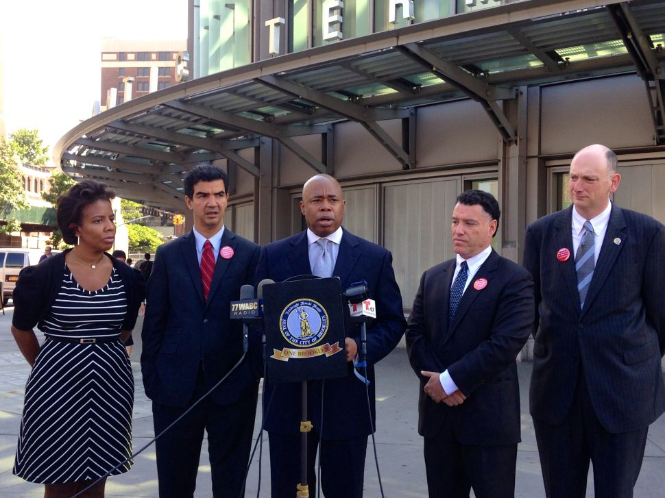 Eric Adams Says de Blasio Should Go on Vacation and He Wants to Do the Same