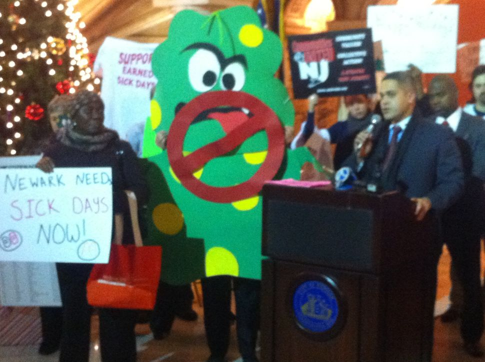 Push continues for paid sick leave bill in Newark