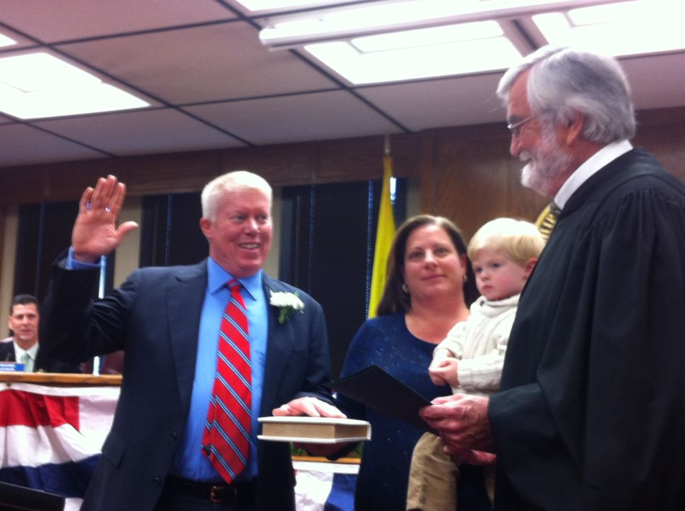 Ducey sworn in as Brick mayor with Sandy issues still in play