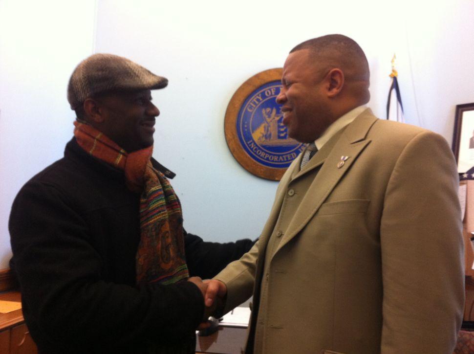 Baraka slate mates John Sharpe James and Patrick Council talk togetherness, and about Mayor James