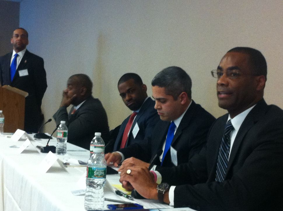 Candidates confront Cami Anderson's influence on education at Newark mayoral forum