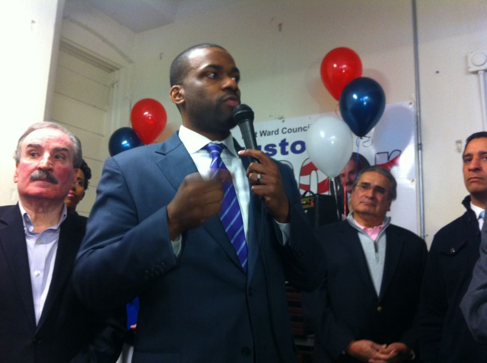 Newark mayoral candidate Jeffries rolls out education plan, bashes Baraka and Anderson