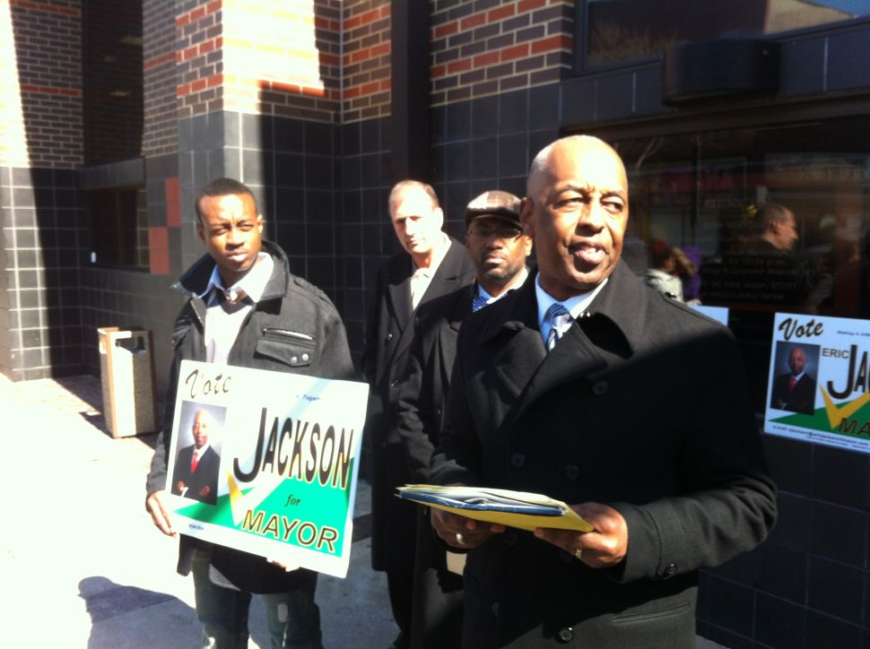 Jackson consolidates support in first post-Tony Mack Trenton mayoral race