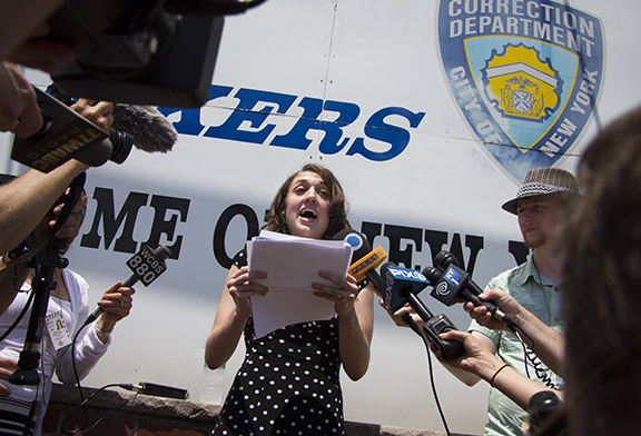 Cecily McMillan, Former Occupy Protester, Released Early From Rikers Island