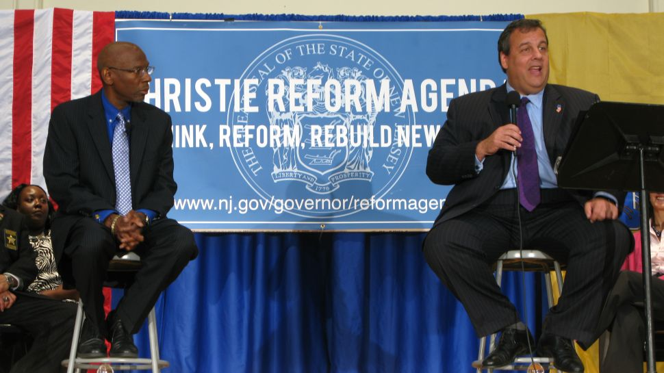 Unions in sight, Christie's magna charter
