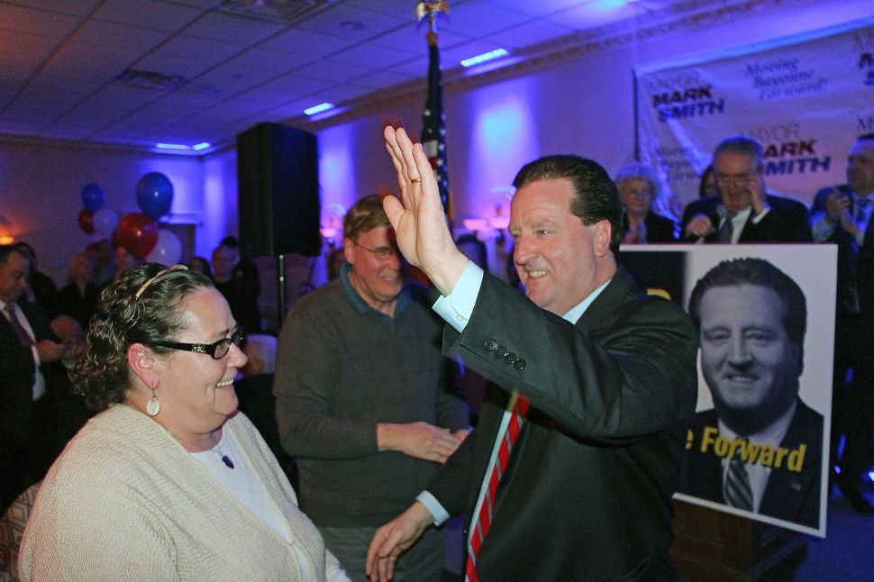 Smith launches re-election bid for Bayonne mayor