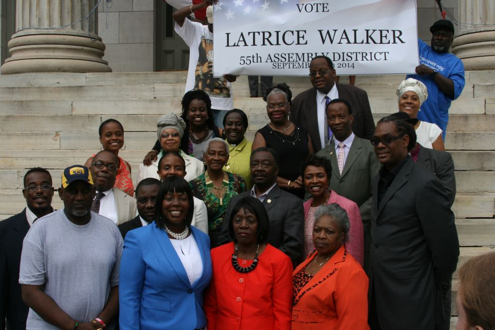 Central Brooklyn Pols Rally for Latrice Walker to Take Boyland Seat
