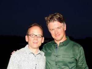 Jeffrey Gates and Richard Moran. (Patrick McMullan)