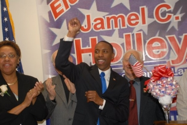 Holley, Roselle Dems, throw their support behind Rice