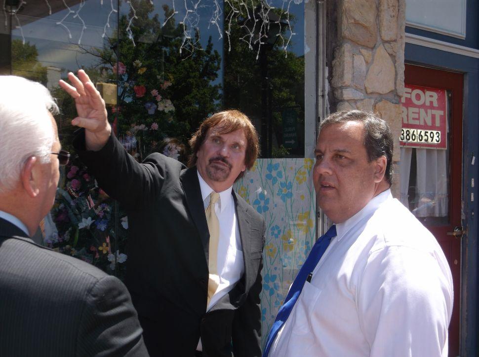 Burlington City mayor backs Christie re-election