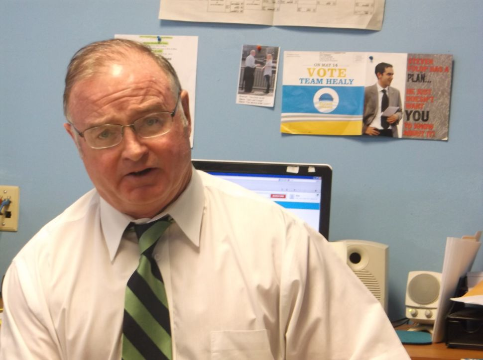 Healy in the face of Fulop attack: 'No one's been vetted the way I have'
