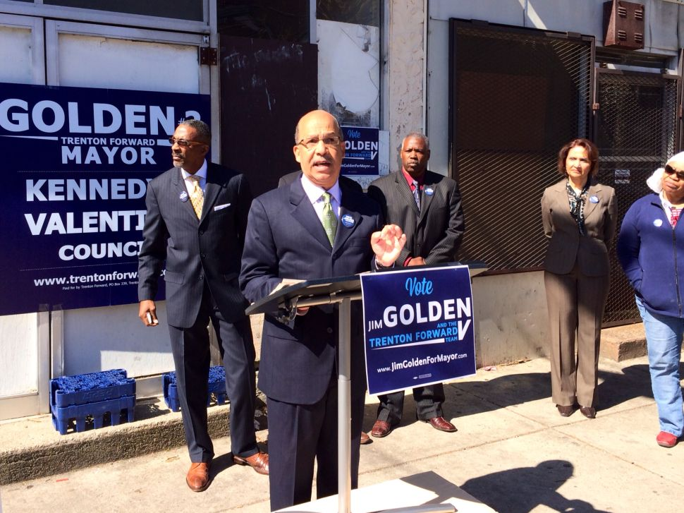 Trenton mayoral hopeful says a runoff is likely