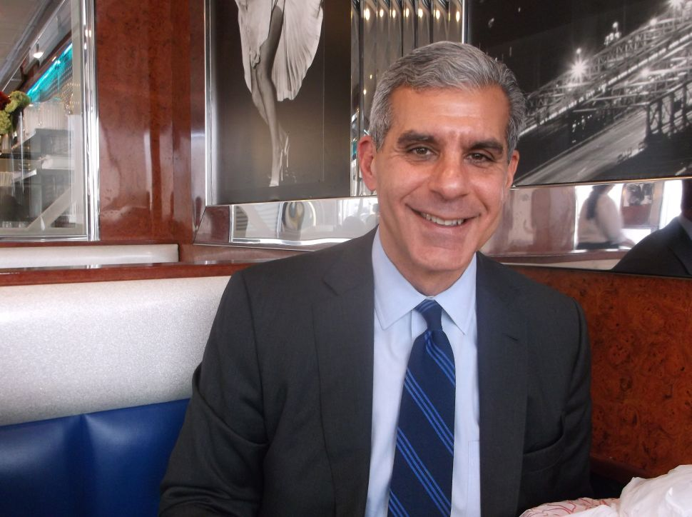 Kyrillos: 'We needed a perfect storm and instead we got Hurricane Sandy'