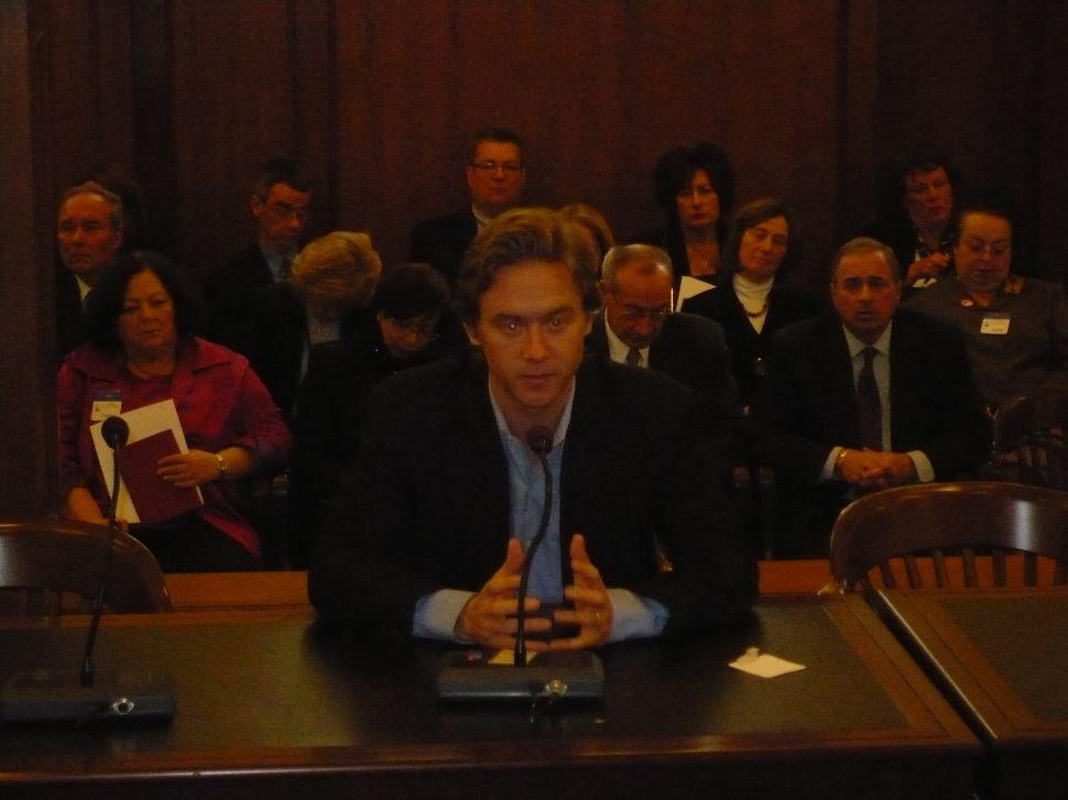 Senate education committee hearing tenure testimony