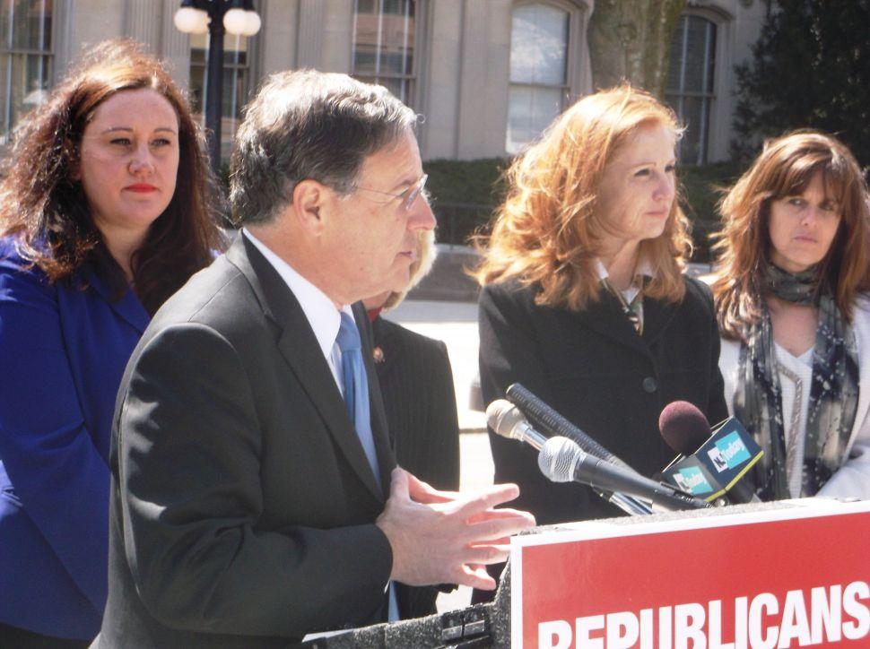 At Assembly GOP contests kickoff, Bramnick targets 'Corzine Democrats'