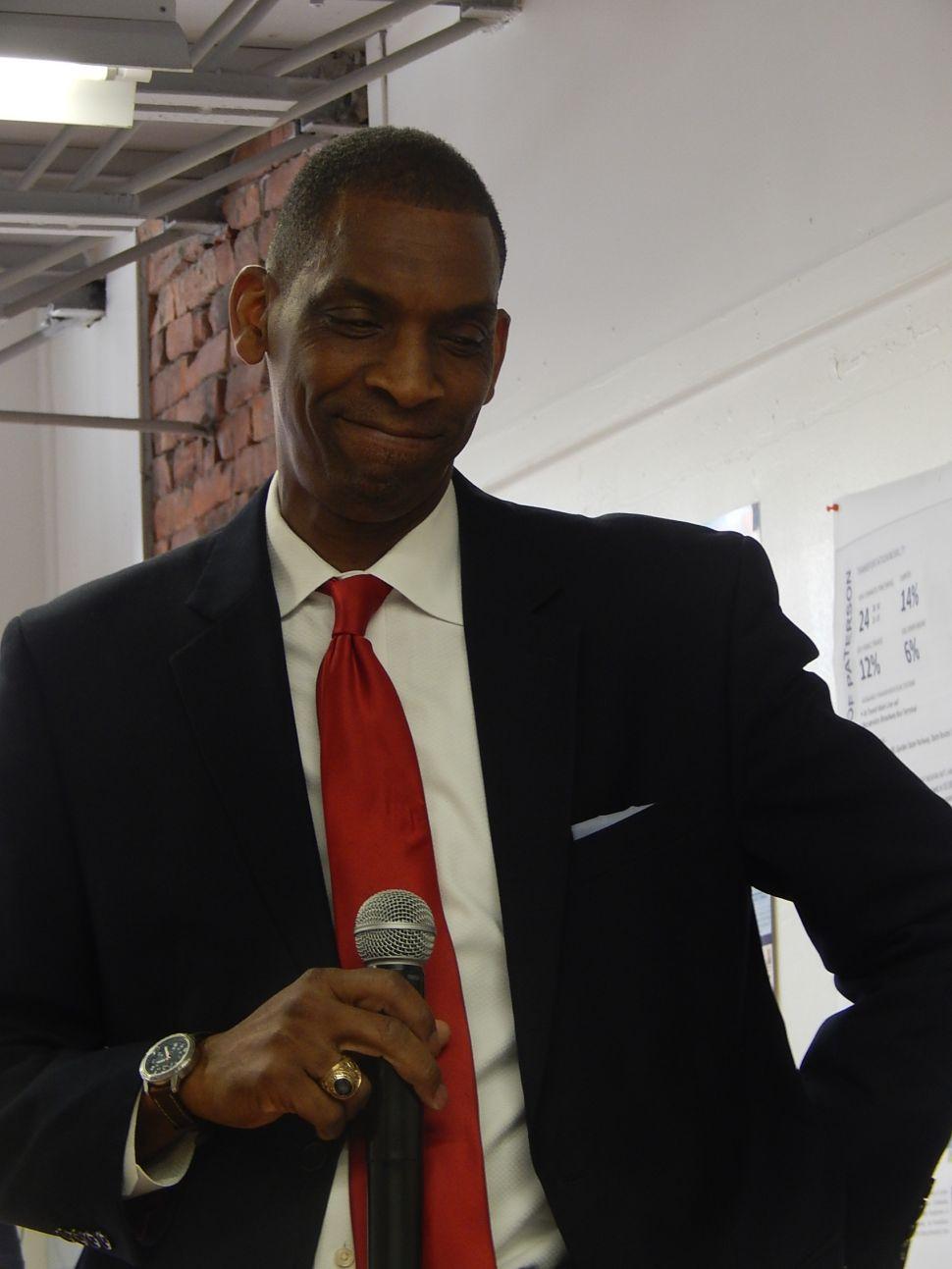 Incumbent Jones buried in Paterson mayor's race