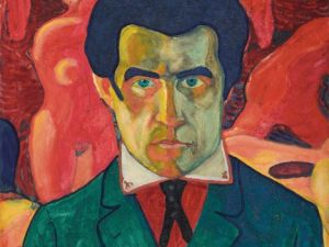 Kazimir Malevich, 'Self Portrait,' 1908-1910. (Courtesy of State Tretyakov Gallery, Moscow).