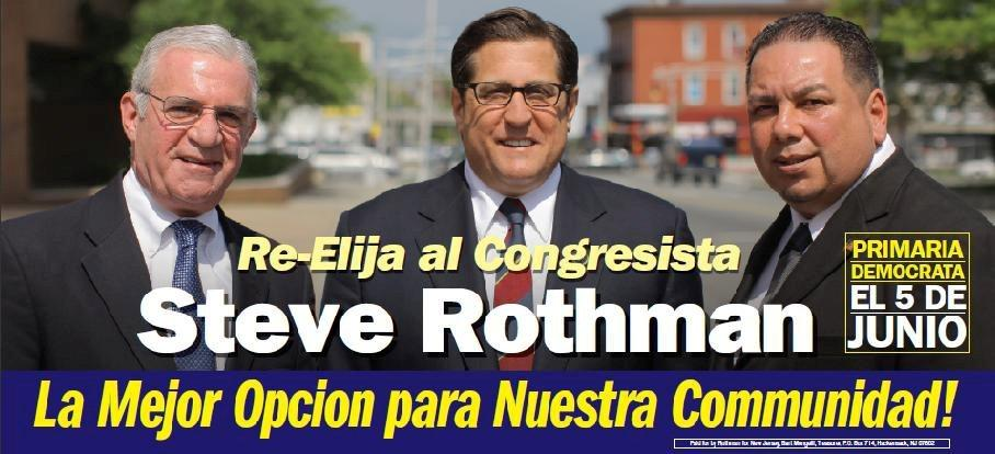 Rothman has twice the cash on hand as Pascrell
