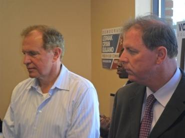 Gearing up for Election Day: for Lesniak, it's all about Nov. 5th and the Elizabeth BOE tilt