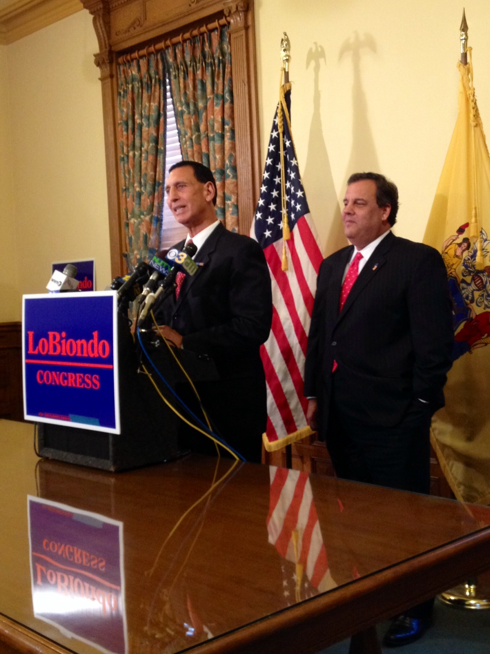 Christie 'all in' on sending LoBiondo back to Congress for another term