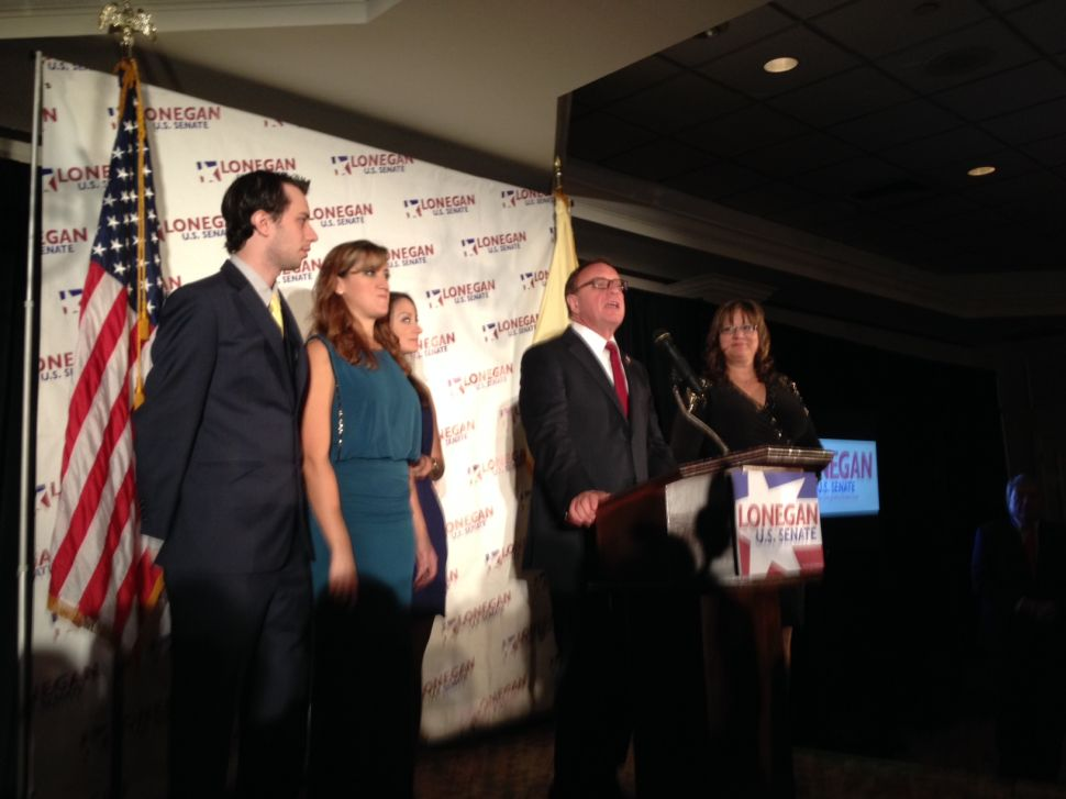 Lonegan concedes race to Booker