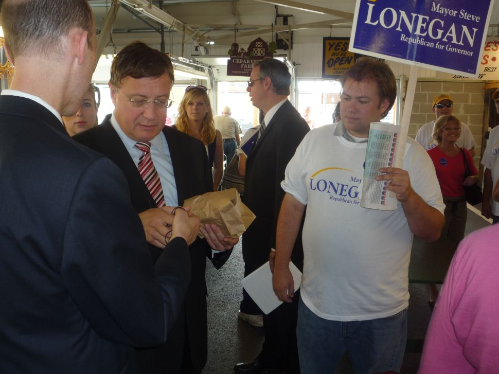 Lonegan campaign nails Christie on 101.5 call-in, while Lonegan makes the rounds