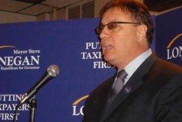 Lonegan jumps ahead of primary, attacks Booker in radio ad