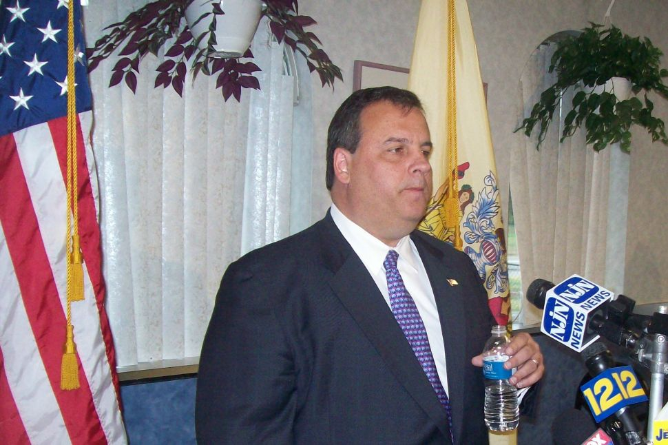 Targeted for fancy hotel stays, Christie fights back in blue collar Westville