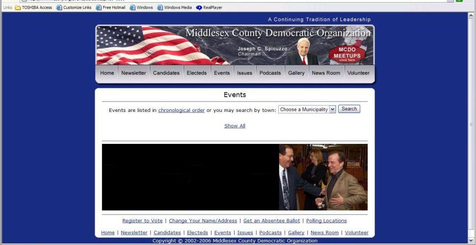 Dems still feature Lynch on website