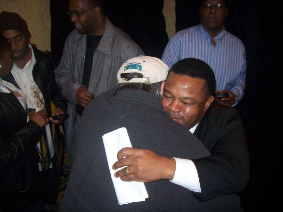 At Trenton mayoral launch, candidate declares, 'The Mack is Back'