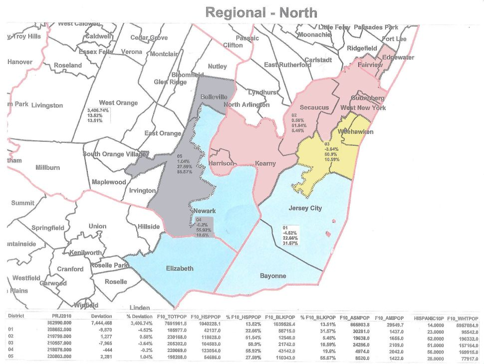 First map surfaces out of redistricting effort