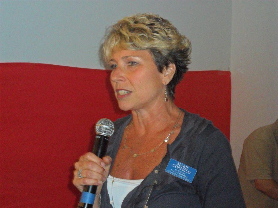 Seeking LD 16 nod, Corfield beats Nemeth at Somerset Dems convention