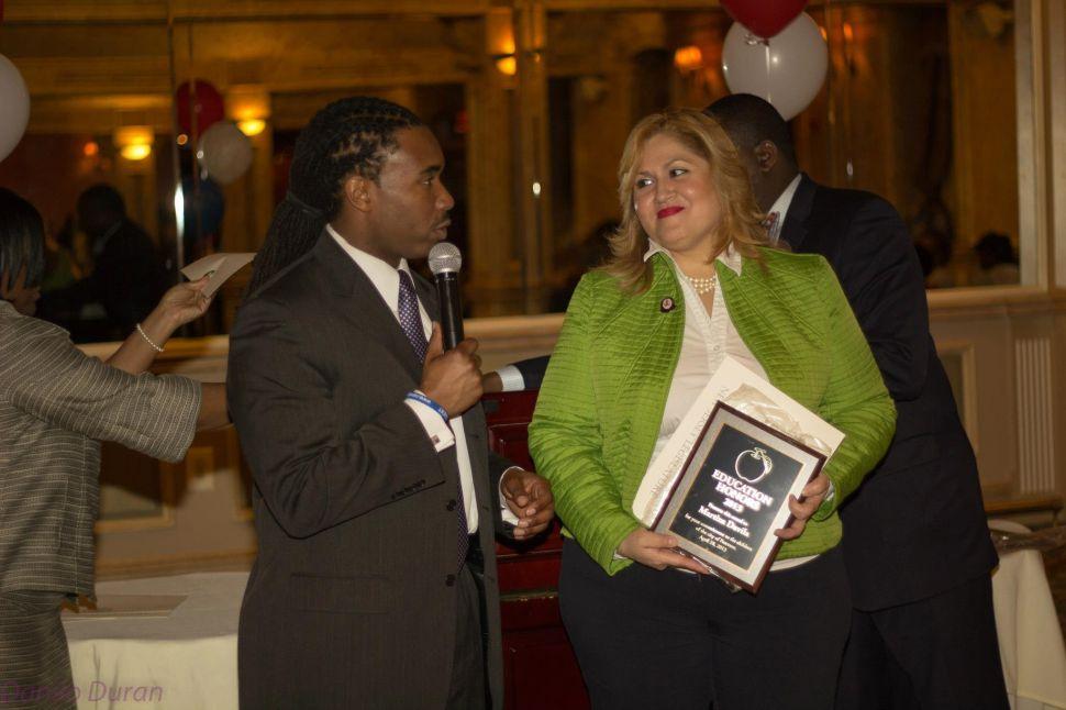 Paterson: Davila gets backing of BOE prez, members
