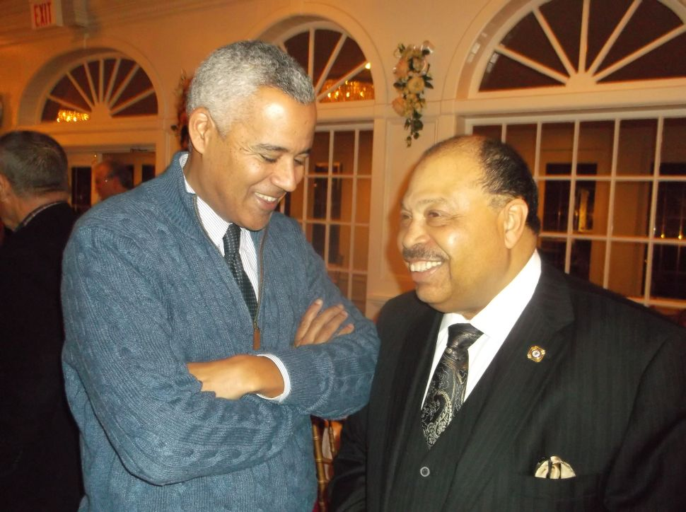 Alexander surfaces at Bowser fundraiser in EO
