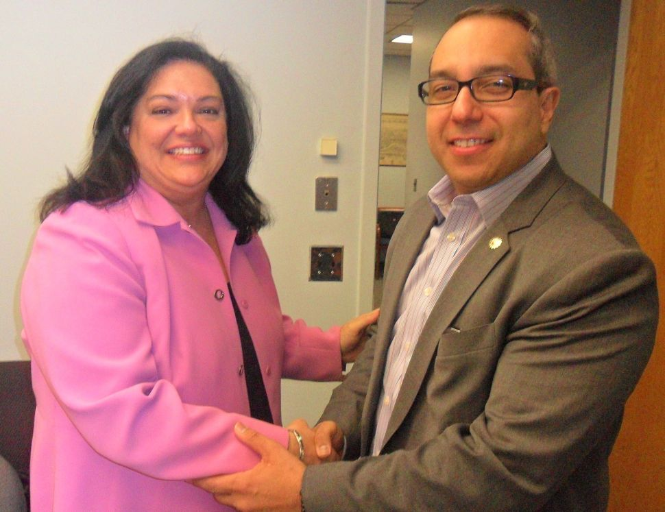 LD 36 hopeful Caride lands Blanco's endorsement at Passaic City Hall