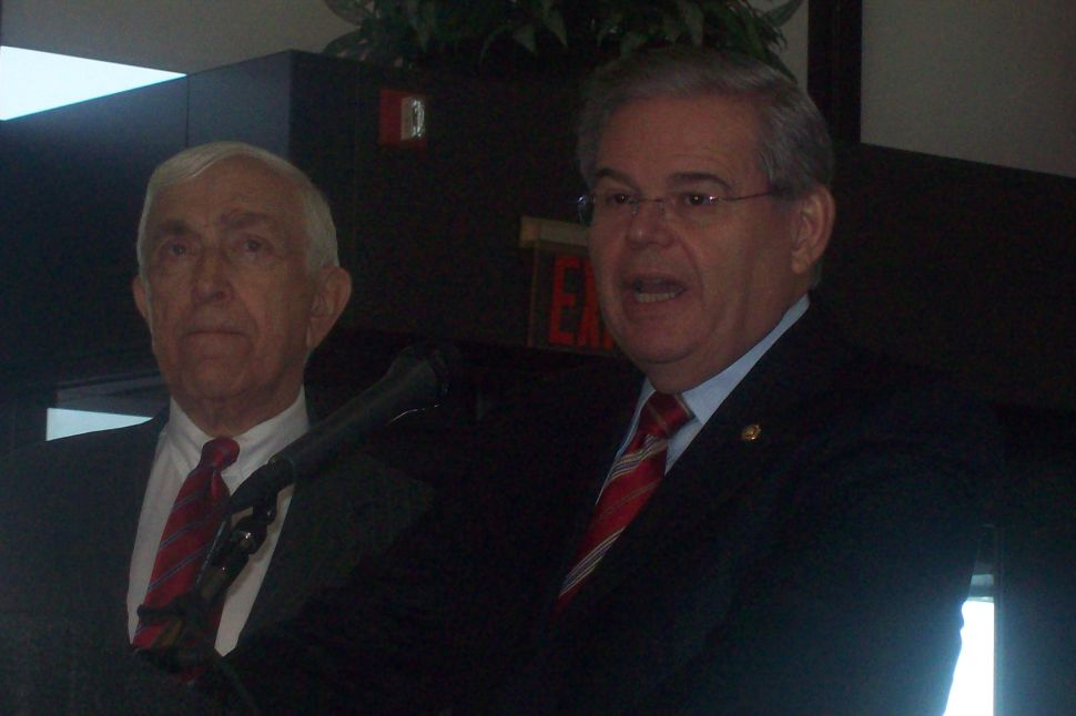 Lautenberg and Menendez have not talked to Christie since the election
